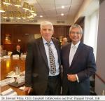 Prof. Trivedi with Dr. Howard White