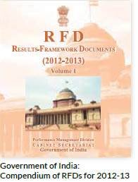 Government of India: Compendium of RFDs for 2012-13