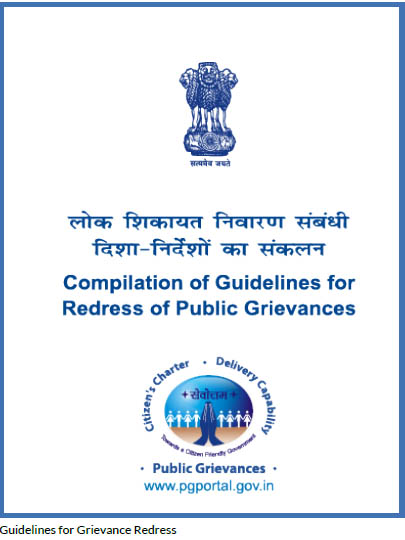 Guidelines for Grievance Redress